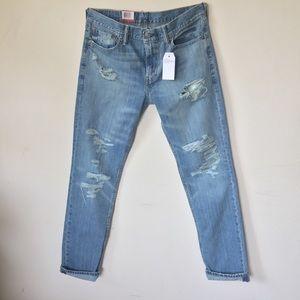 Levi's 511 Slim Fit 👖 destroyed light blue wash
